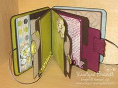 chipboard album -- <3 this look.  I want to try making one.