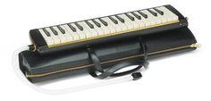 Suzuki Musical Instrument Corporation PRO-37v2 Professional Alto Melodion with Case and 3-Mouthpieces Suzuki Music (unamplified)