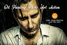 Oil Painting Photo Art Action