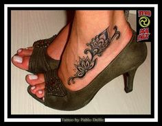 foot tattoo....