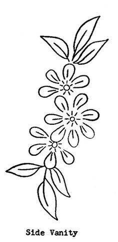 vintage transfer patterns for embroideryfree vintage machine embroidery patterns Embroidery Flowers Pattern, Embroidery Sampler, Machine Embroidery Patterns, Crewel Embroidery, Hand Embroidery Designs, Vintage Embroidery, Embroidered Flowers, Flower Patterns, Embroidery Ideas