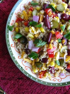 This vivid vegetarian accompaniment can be thrown together quickly- the fresh corn works perfectly with the jalapeño, coriander, lime and feta Midweek Meals, Easy Meals, Bbc Good Food Recipes, Healthy Recipes, Healthy Food, Steak Salad, Salad Bar, Side Salad, Bowl Of Soup