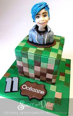 Minecraft Dantdm And Dr Trayaurus Cake I Ll Bake The