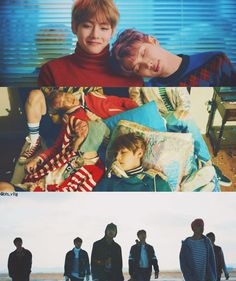 ] BTS 'Spring Day' MV // that first picture of Tae and Joonie is actually my fave scene! They look so beautiful!