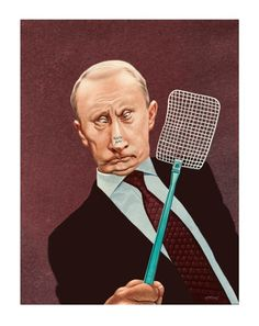 Was tanzt den da auf Ihrer Nase herum, Herr Putin ?