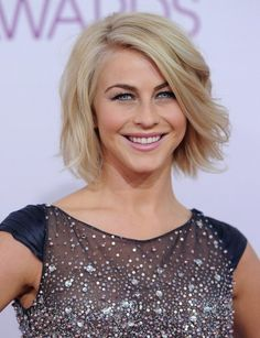 Beaded Dress Lookbook: Julianne Hough wearing Tony Ward Beaded Dress (1 of 18). Julianne's dress looked like the night sky at the People's Choice Awards.
