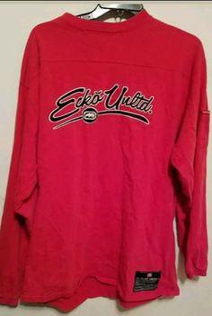 b68d98590e554 Ecko Unltd Red Long Sleeves Shirt New