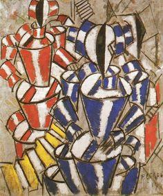 leger cubism   Fernand Léger - L'escalier (1913) :: Fernand Léger :: Allpaintings ...