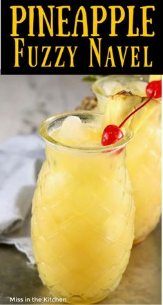 Pineapple Fuzzy Navel is a super simple and delicious party cocktail! Perfect mixed drink with just 3 ingredients! Pineapple Fuzzy Navel is a super simple and delicious party cocktail! Perfect mixed drink with just 3 ingredients! Easy Mixed Drinks, Mixed Drinks Alcohol, Alcohol Drink Recipes, Mix Drinks With Vodka, Party Drinks Alcohol, Mixed Drinks With Fireball, Jack Daniels Mixed Drinks, Alcoholic Party Drinks, Mixed Drink Recipes