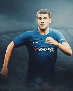 Alvaro Morata in Chelsea Chelsea Football, Chelsea Fc, Fifa, Alvaro Morata, Star Wars, Gareth Bale, Blue Dream, West London, David Beckham