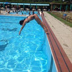 Tuffi e relax alle piscine delle vallette di Ostellato