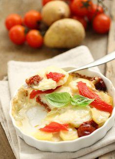 Mattonella di #patate e Fior di Filetti  #Cirio #ricetta #recipe #italianrecipe