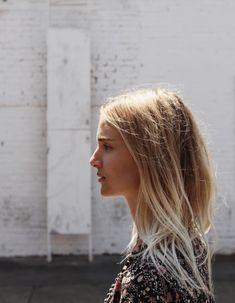 Soft ombre hair / balayage. Via Mija