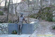 Jozsef Attila statue Lillafured Miskolc