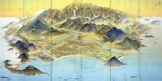 Featured Image for Amazingly detailed aerial illustrations of 1900s Japan