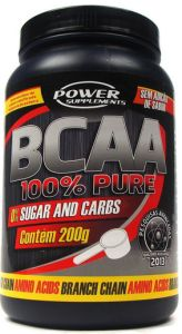 BCAA PURE 100% POWER SUPPLEMENTS