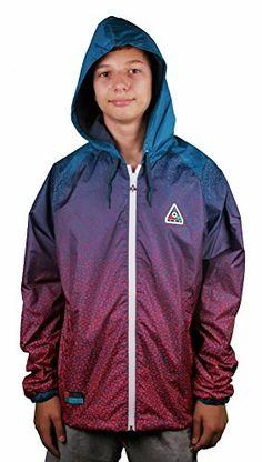 Best price on LRG Men's Faded Grit Wind Breaker Jacket // See details here…