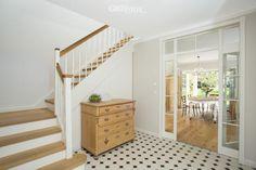 """Die Visitenkarte eines jeden Greenville-Haus ist der Eingangsbereich. Er heisst seine Bewohner """"Willkommen""""."""
