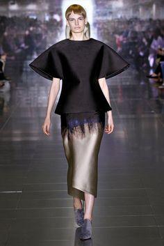 Mary Katrantzou Fall 2013 Ready-to-Wear Fashion Show - Carolina Sjostrand