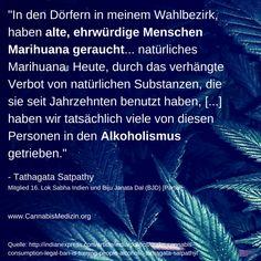 Tathagata Satpathy spricht darüber, was die Cannabisprohibition in seinem Wahlbezirk angerichtet hat.  Wo teilweise in den USA, aber auch hier in Deutschland Cannabis als Ersatzdroge eingesetzt wird um Menschen zu helfen von Alkohol oder anderen harten Drogen wegzukommen, hat das Verbot von Marihuana in Indien ein ganz neues Problem geschaffen.