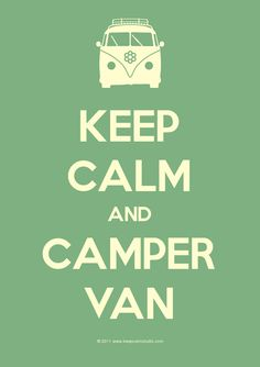Camper Van  I feel like it's getting to be a good time for a road trip!