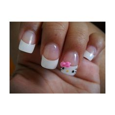 1000 Images About Hello Kitty Nail Designs On Pinterest