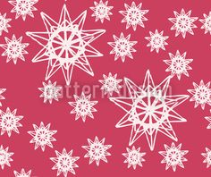 Stars On Wire Red / Shapes Pattern Style // High-quality Vector Pattern Designs at patterndesigns.com - , designed by Laura Foster Nicholson
