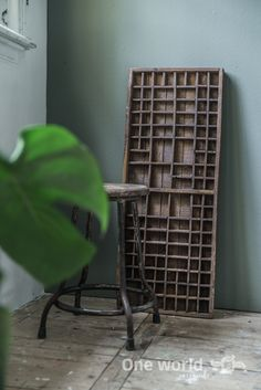 One World Interiors - Letterbox drawer & Warung chair - Picture: Paulina Arcklin