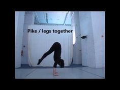 3 ways to lift into a handstand + preparation exercises - YouTube