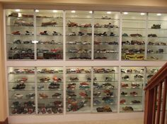 Custom Made Built-in Display Cabinets