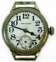 Lafayette Escadrille Pilot Watch (Note: This item is in storage.)