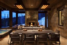Fascinating contemporary mountain retreat with Rocky Mountain views
