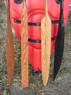 Modified Greenland Eskimo Kayak Paddle