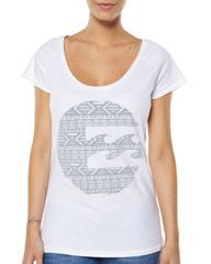 BILLABONG THE WAVE TEE - WHITE