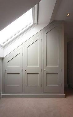 41 Trendy Bedroom Closet Storage Ideas How To Build Bedroom Closet Doors, Bedroom Closet Storage, Attic Storage, Office Storage, Storage Shelves, Bathroom Closet, Master Closet, Ladder Shelves, Wardrobe Storage