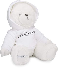 Teddy Bear in Logo Sweatshirt by Givenchy at Neiman Marcus Baby Bibs, Baby Accessories, Kids Gifts, Baby Boy Outfits, Baby Items, Kylie, Givenchy, Cute Babies, Creations