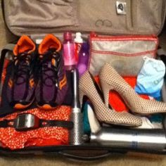 The traveling runner - packing & running while away from home.