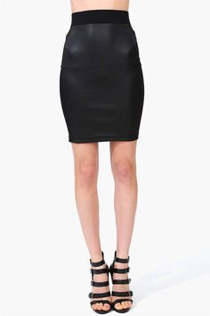 #Necessary Clothing       #Skirt                    #Izzy #Pencil #Skirt #Black                         Izzy Pencil Skirt in Black                                                    http://www.seapai.com/product.aspx?PID=42287
