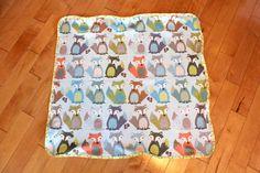 Foxy  Organic Interlock Knit Blanket by PETUNIAS by PETUNIAS, $42.50