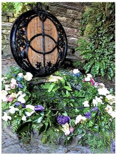 """The Glastonbury Chalice Well's rich history makes it clear that over thousands of years, people have found the life enhancing waters of the Well flowing uninterrupted for as long as we know. The waters still have a steady flow throughout the seasons and the temperature of it never changes. Excerpt from """"The Modern Celt & The Chalice Well"""" by Karin Schlüter Lonegren, Trustee of The Chalice Well and Gardens - Glastonbury, England Read more in our March 2015 issue. FREE at www.CelticGuide.com."""