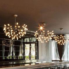 Contemporary Acrylic Firefly Tree Lights
