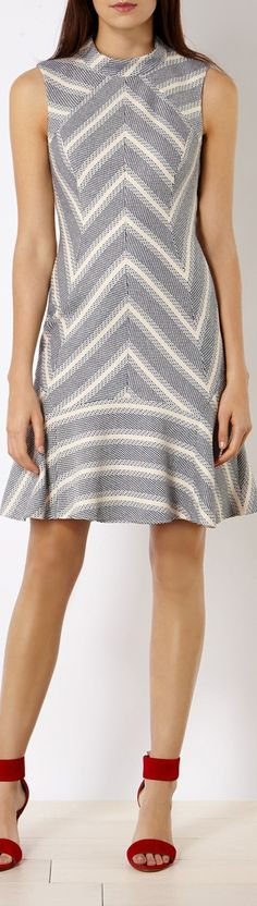 Karen Millen dress women fashion outfit clothing style apparel @roressclothes closet ideas