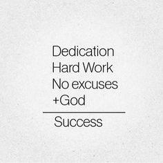 G❤️D  FRST + Dedication + Hard Work + No Excuses = #SUCCESS • #inThatOrder  #ShopChelou #Entrepreneur #Empire #GirlPower #GodFirst