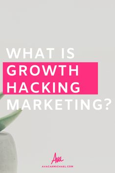 Essentially, 'growth hacking' is taking your company or brand from 0 to 100 in a matter of weeks. Growth hacking is what a lot of brands and companies deploy for that explosive growth that gets them noticed.