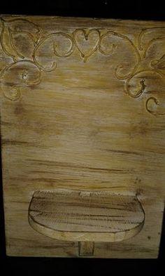 Pingos di Arte: Reutilizando pedaços de madeira II