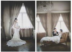 A beautiful portrait session at the Pachtuv Palace by American Wedding & Pre Wedding Photographer Kurt Vinion
