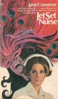Vintage Romance nurse Covers: Jet Set Nurse