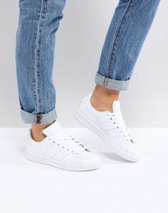 adidas Originals | adidas Originals All White Stan Smith Sneakers