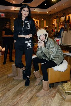 Spotted: Kendall and Kylie shopping in NYC.