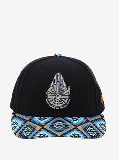 06c26dddd6bfd New Era Star Wars Patterned Millennium Falcon Snapback Hat